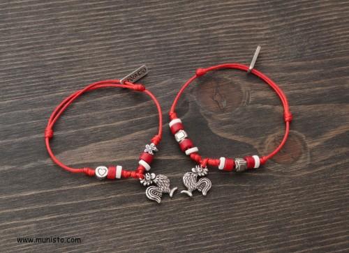 Martenitsa bracelet set images