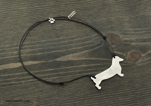 Women's Necklace Dachshund images