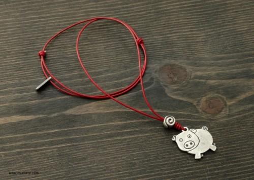 Комплект Прасенца - колие и гривна изображения