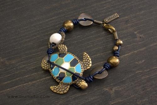 Дамска гривна Костенурка изображения