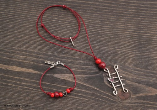 Women's Ladder Bracelet & Necklace Set images