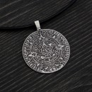 Медальон Календар на Маите