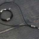 Unisex Bracelet & Necklace Set