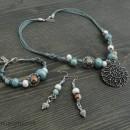 Women's Bracelet, Necklace & Earrings Set
