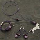 Women's Dachshund Necklace, Bracelet & Earrings Set