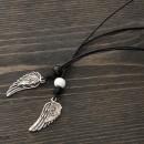 Women's Wings Necklaces Set