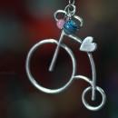 Дамско колие Ретро колело