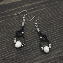 Earrings Snowballs