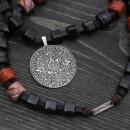 Sacred Mayan Calendar Necklace