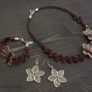 Women's Bracelet, Necklace & Earrings Set