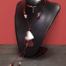 Комплект Сърца - дамско колие, гривна и обеци
