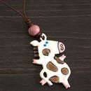 Dancing cow  pendant
