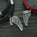 Комплект гривни Крила - дамска и мъжка
