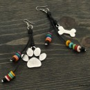 Paw & Bone Earrings