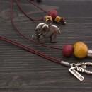Дамско колие Слон