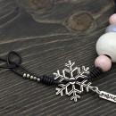 Дамско колие Снежни топки