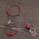 Women's House Bracelet & Necklace Set