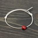 Martenitsa Bracelet Ladybug