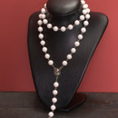 White Coral Rosary