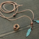 Women's Necklace and Ring Set