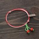 Martenitsa Bracelet Cherries