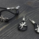 Women's Bracelet & Earrings Set