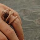 Комплект - дамско колие и пръстен