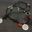 Wheel of Fortune - Men's and Women's necklaces Set