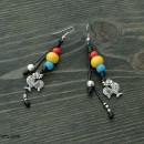 Women's Earrings Roosters