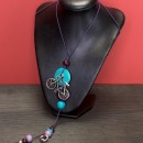Women's Necklace Bicycle