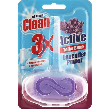 At Home Clean Toiletblok – Lavendel