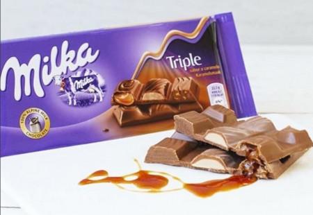 Ciocolata Triple 100g Milka