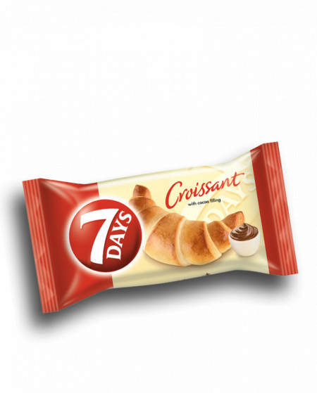 Croissant cu crema de cacao Max 85g 7Days