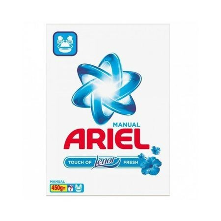 Detergent rufe, manual Ariel Lenor Fresh ,450gr