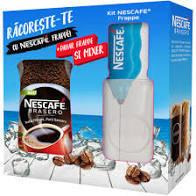 Pachet Cafea solubila Brasero, 200 gr. + Pahar + Mixer pentru Frappe cadou