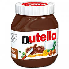 Crema tartinabila de alune de padure cu cacao Nutella, 750g