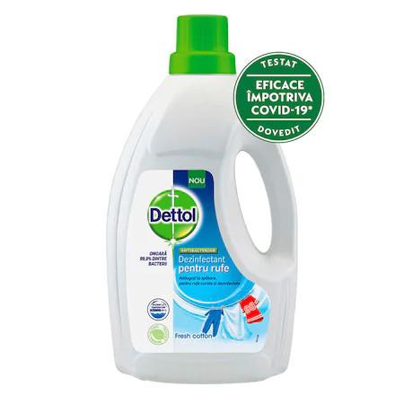 Dezinfectant pentru haine Dettol Fresh Cotton, 1.5L