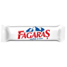 Fagaras. Baton de ciocolata cu stafide si crema de rom 30g