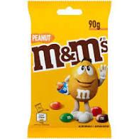 M&M's Peanut, Arahide invelite in ciocolata cu lapte 90g