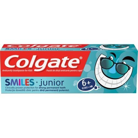 Pasta de dinti Colgate Smiles pentru copii 6+ ani, 50 ml