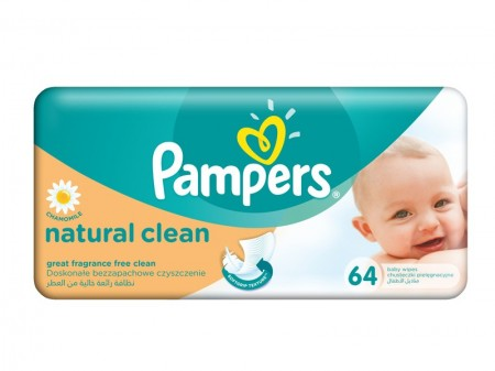 Servetele umede Pampers Sensitive 52 buc