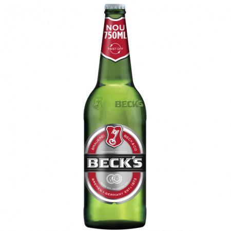 Bere blonda Beck's, sticla 0.75L