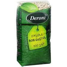 Fasole Bob gustos 900g Deroni