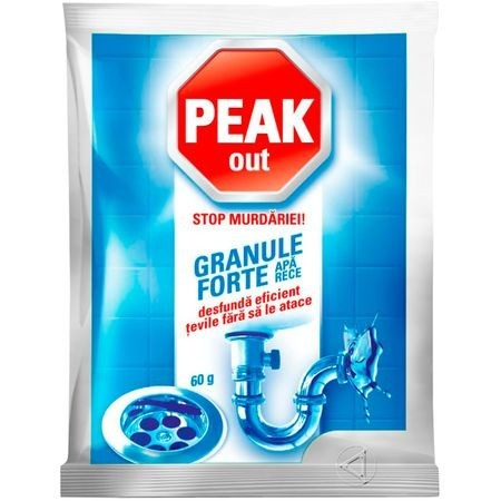 Granule Forte Peak Out Apa rece, 60g