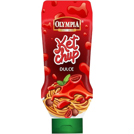 Ketchup dulce Olympia, 500 g