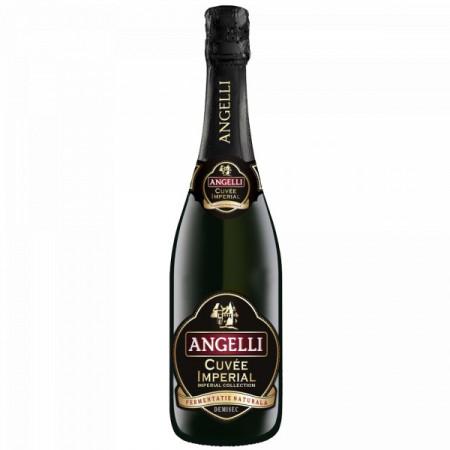 Vin spumant alb demisec Angelli Cuvee Imperial 0.75L