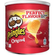 Chipsuri cu sare Pringles, 40g