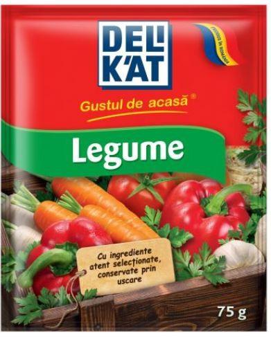 Delikat Baza pentru mancaruri cu gust de legume - 75 g,