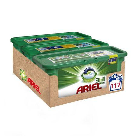 Detergent capsule Ariel 3in1 PODS Mountain Spring, 117 spalari