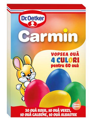 DR. OETKER CARMIN VOPSEA LICHIDA 4 CULORI 60OUA